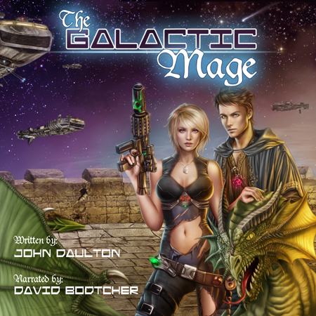 The Galactic Mage audiobook