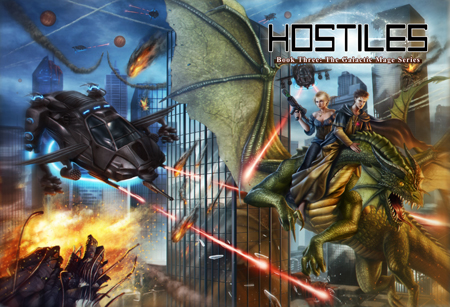hostiles cover - galactic mage book 3