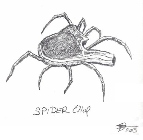 Spider like a pork chop
